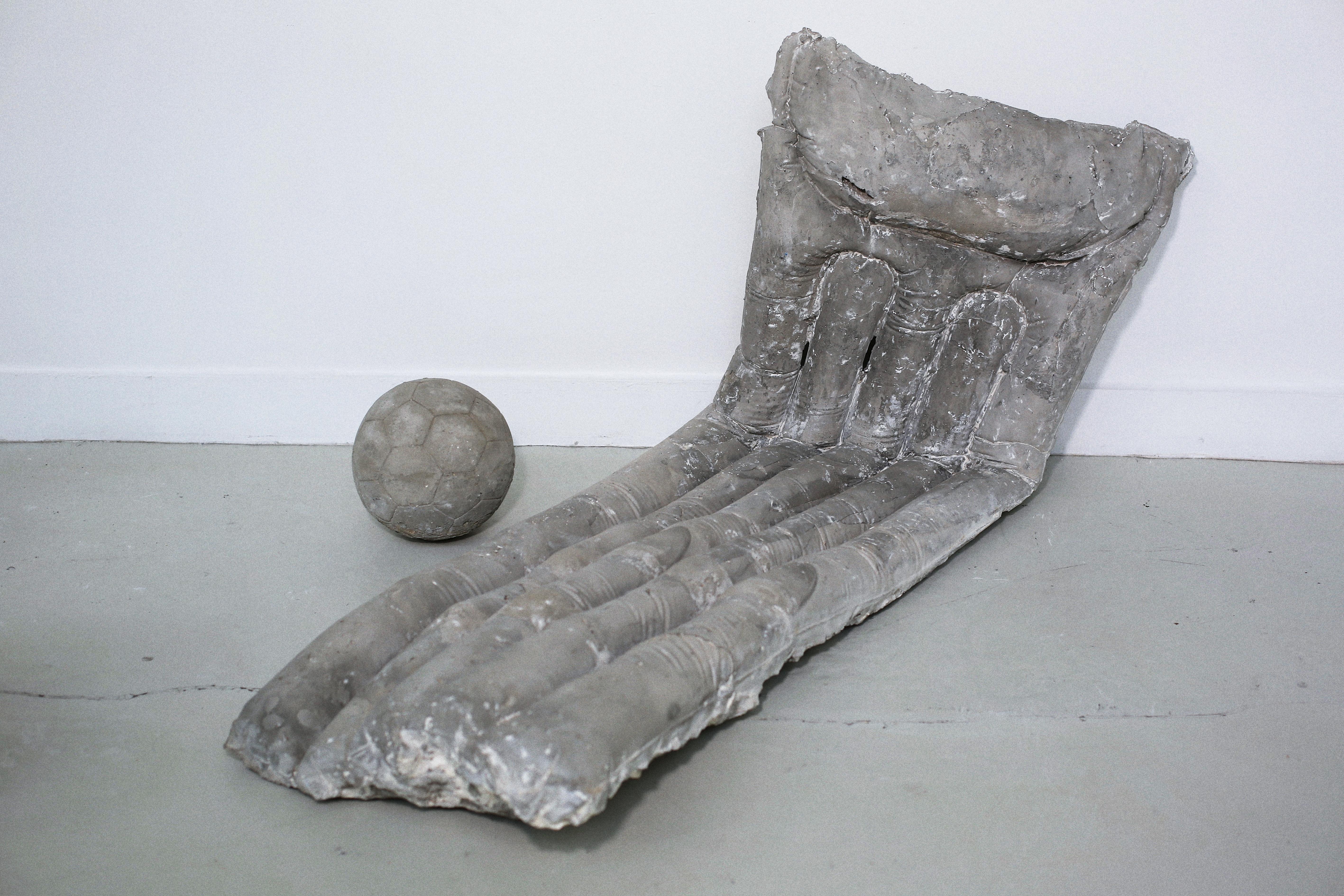 Matelas, béton allégé, 130x60x70 cm