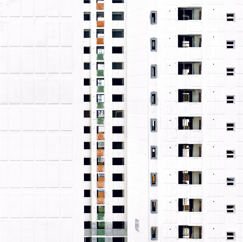 Séoul – Tanji n° 5 – 2003Ilfoflex – 90 x 90 cm + 11 cm Bords blancs – 8 ex.