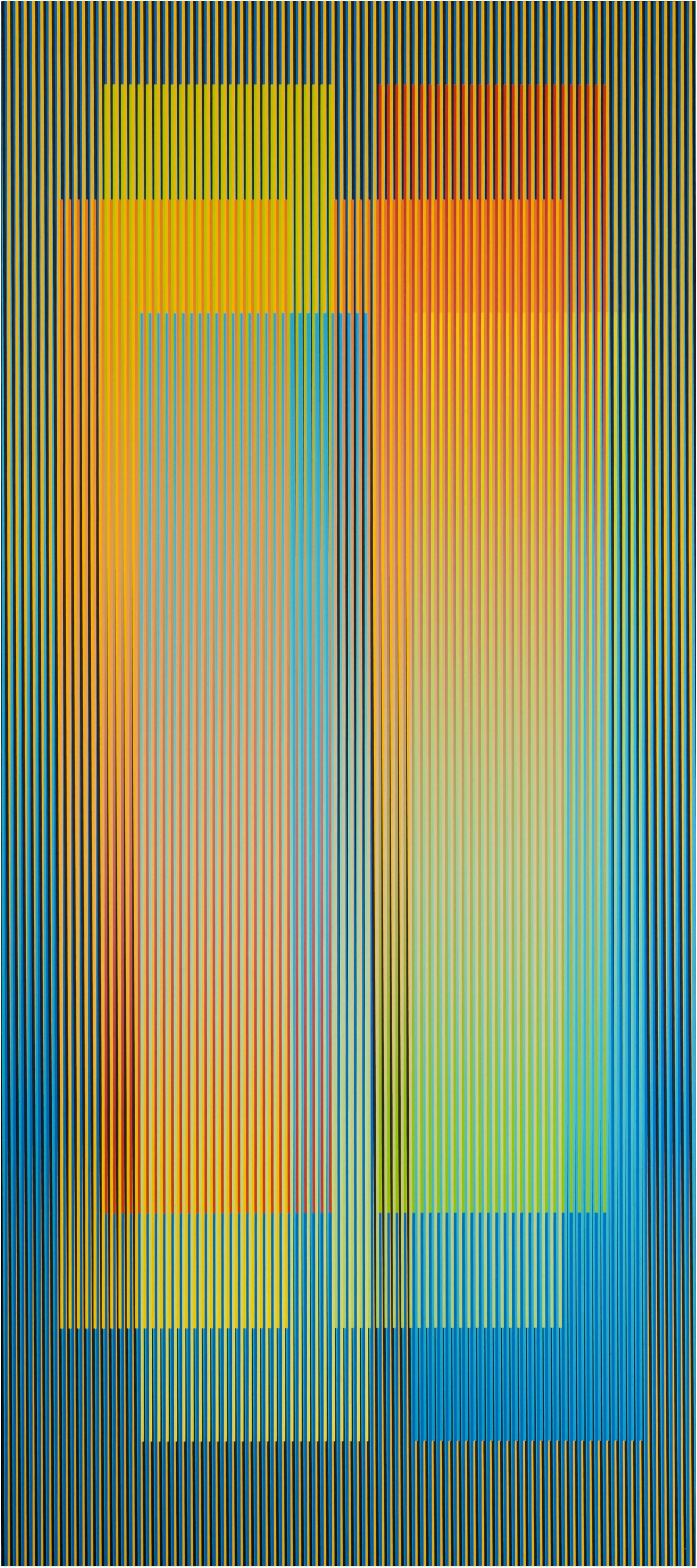 Couleur Aditive Denise C, 80 x 180 cm, Paris 2007